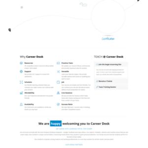 CareerDesk - by WikiMojo-Sachin-Shah-Sam-Erickson